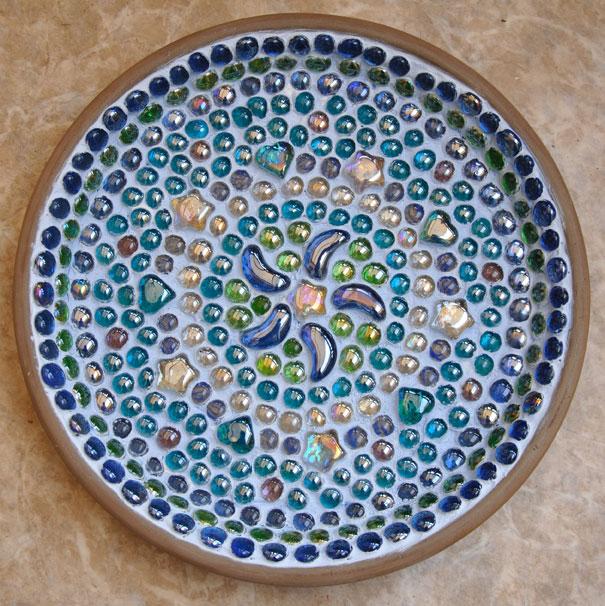 Mosaic Bird Bath And News Earth And Hearth