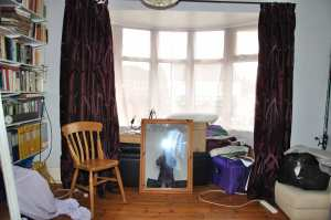 The Well Lit Bay Window For My Sewing Machine
