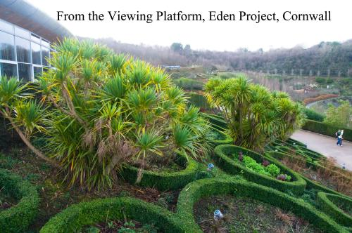 Viewing platform, Eden Project, Cornwall